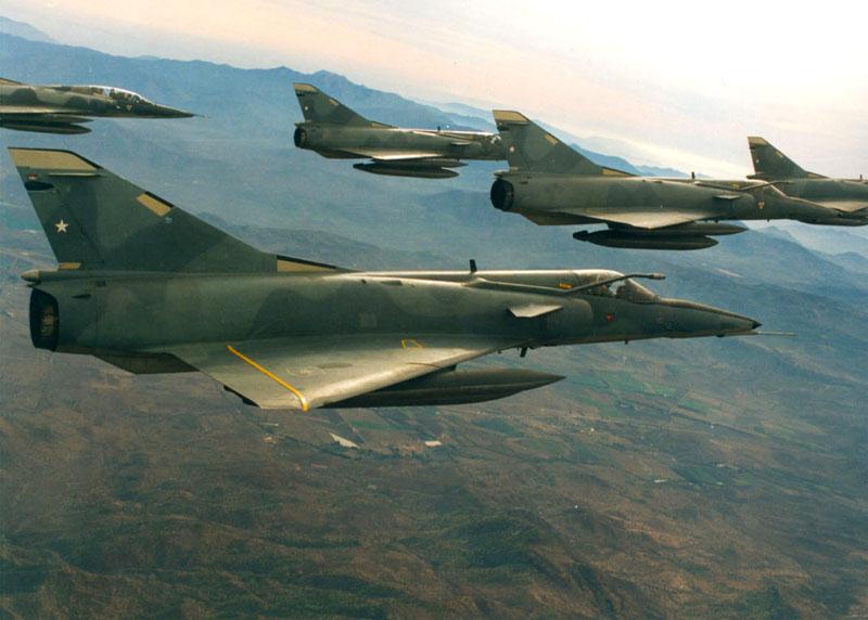 Aviones Historicos fuerza Aerea de Chile (Fach)